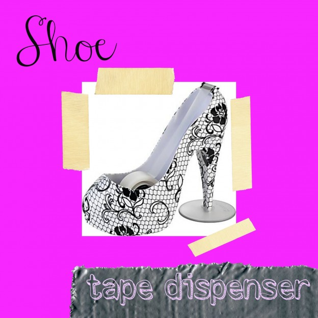 Shoe Tape Dispenser