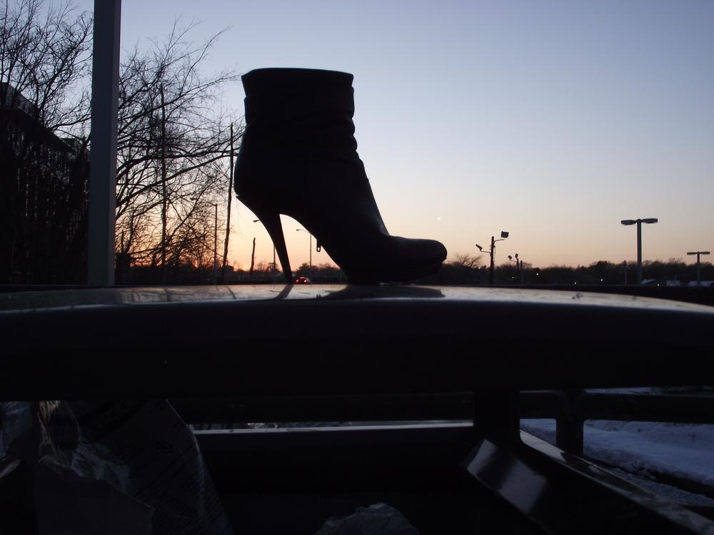 Shoe and Earring.JPG