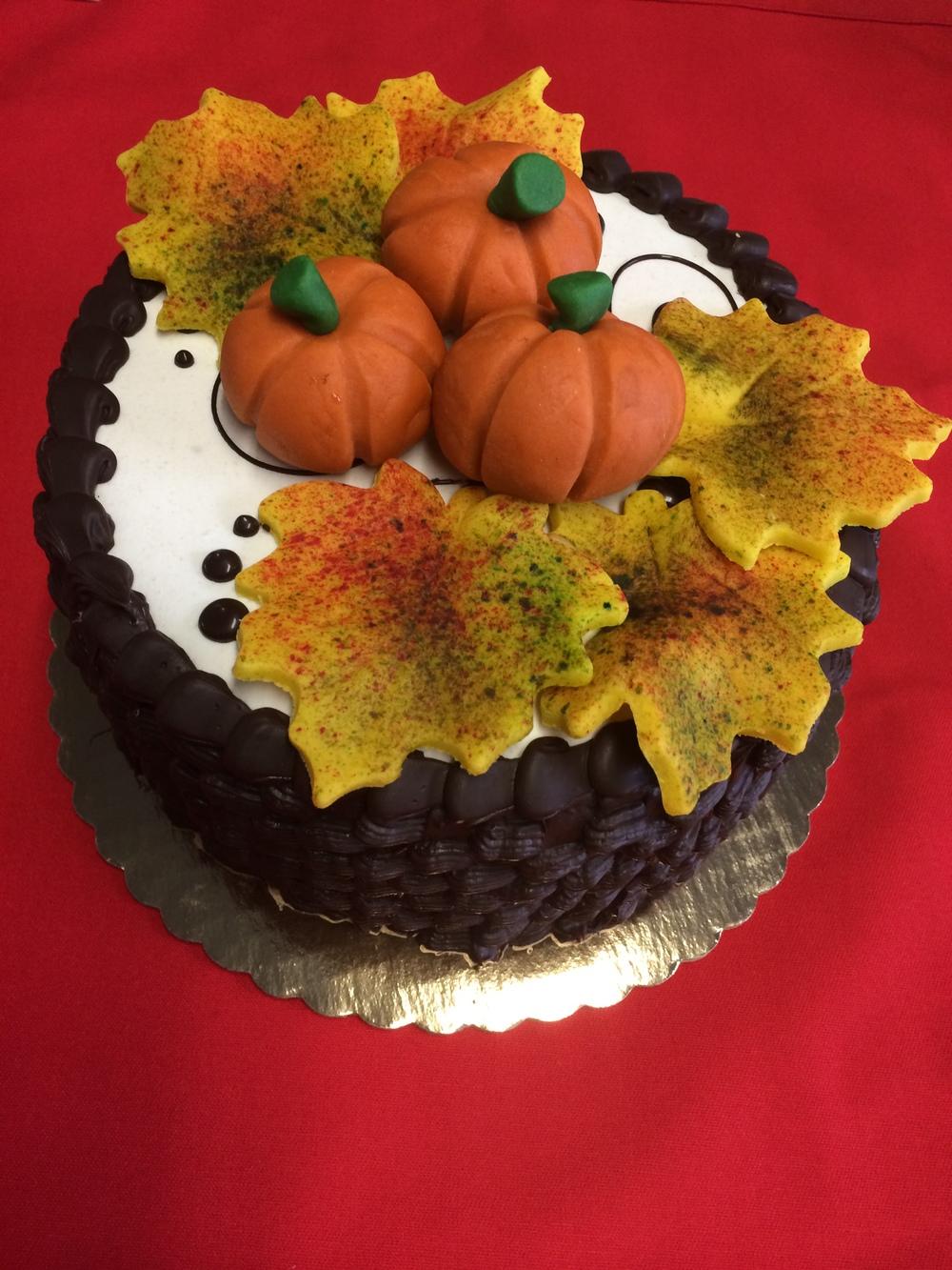 Thanksgiving Cake Mockup