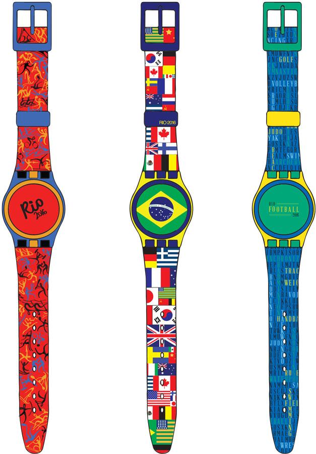 Rio 2016 Swatches