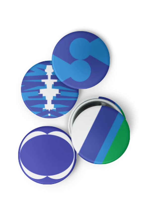 Pin Buttons 3