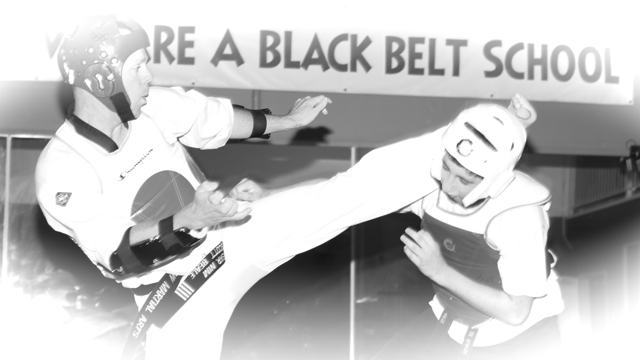 Taekwondo sparring Click here for more information