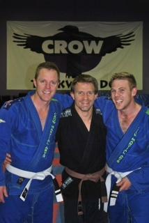 Scott and Zac are one step closer to their blue belt