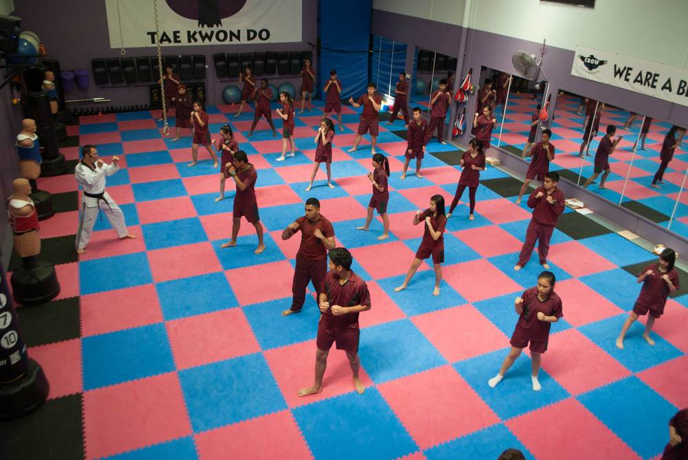 Leaders learn basic Martial arts techniques