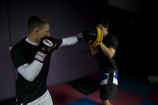 Kickboxing at Crow Martial arts