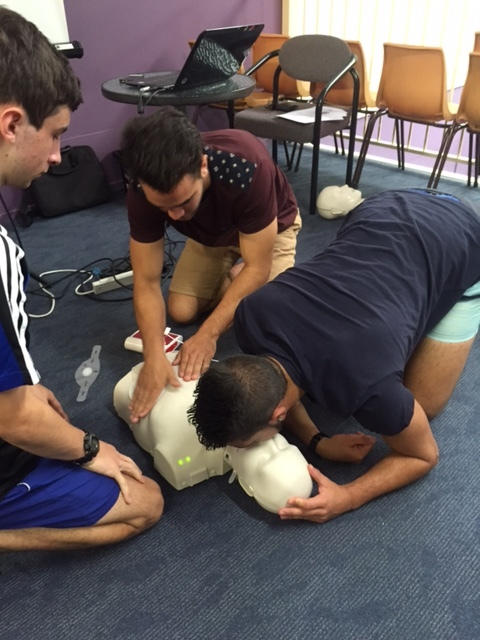 First aid at Crow Martial Arts