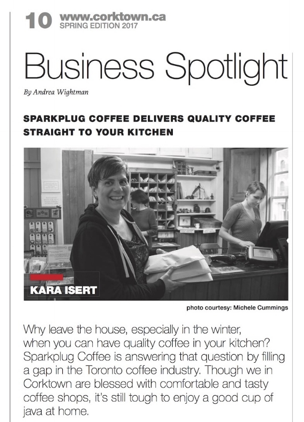 Thank you to the  Corktown News  Team & Corktown Residents & Business Association for the great writeup in the local paper!