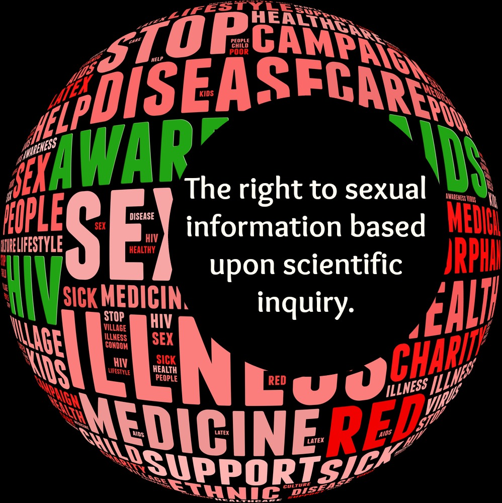 This right implies that sexual information should be generated through the process of unencumbered and yet scientifically ethical inquiry, and disseminated in appropriate ways at all societal levels.