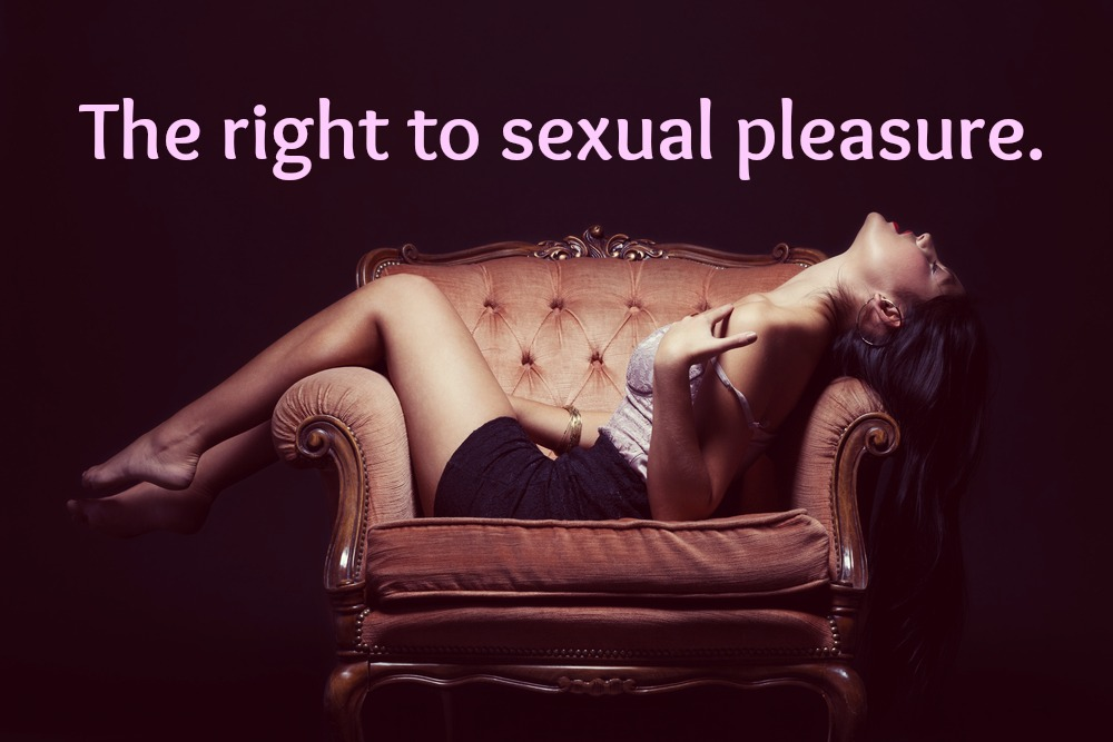 Sexual pleasure, including autoeroticism, is a source of physical, psychological, intellectual and spiritual well being.
