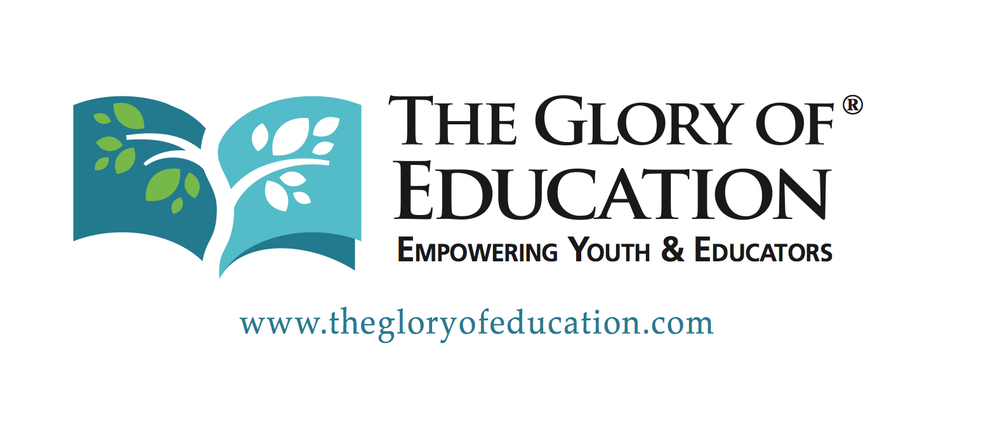 Our newest partner The Glory of Education offers teachers training, student presentations & more.