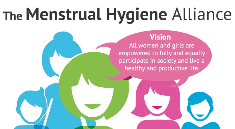 Visit The Menstrual Hygiene Alliance for more information and to get involved.