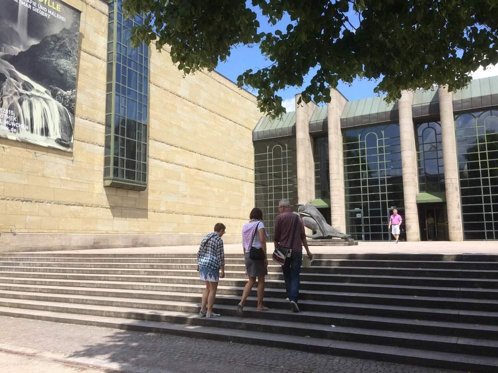 Neue Pinakothek, Munich , Germany