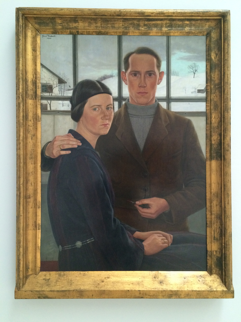 My wife and I, Hermann Tiebert