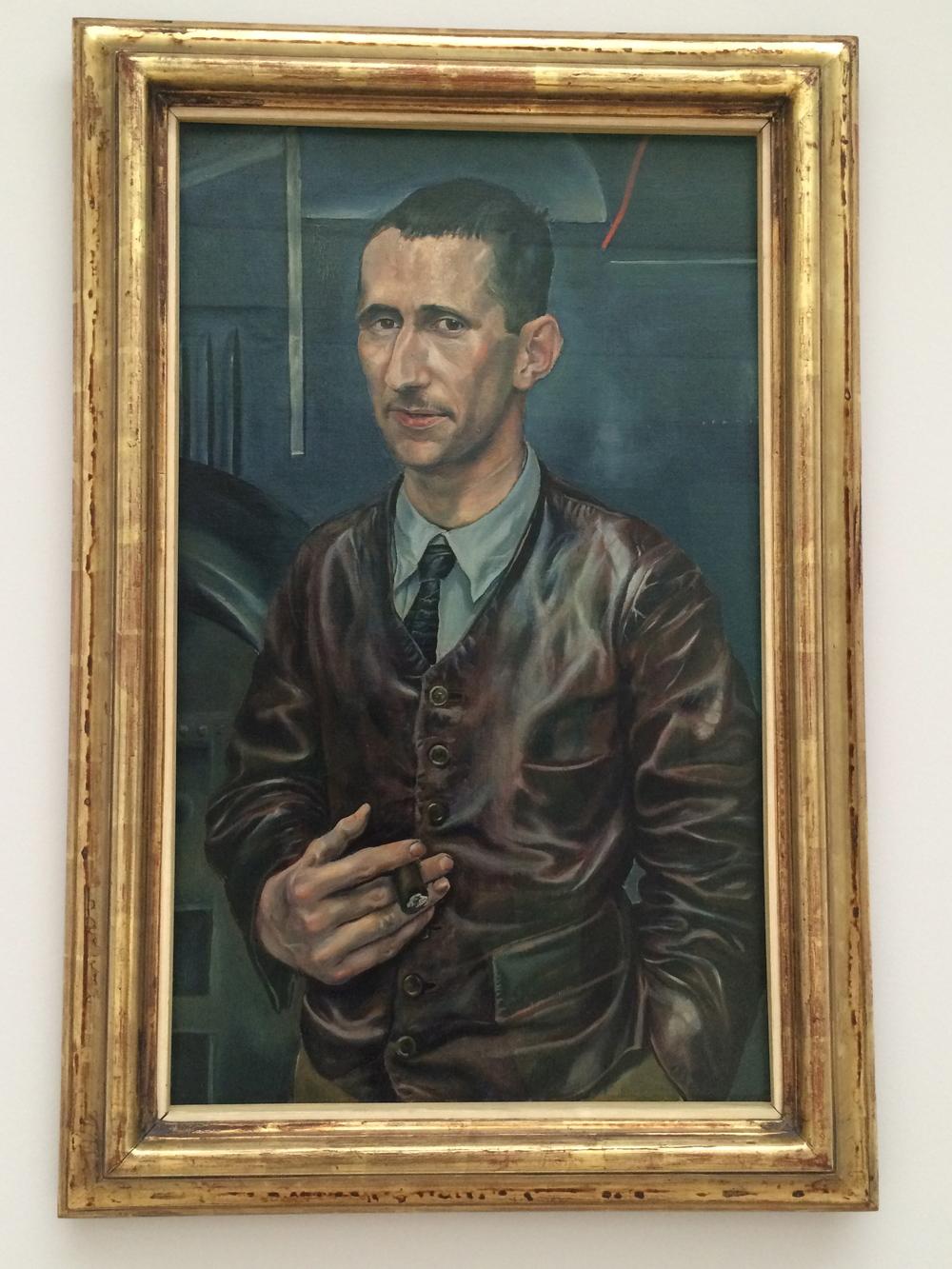 Bertolt Brecht by Rudolf Schlichter
