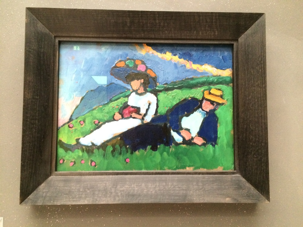 Jawlensky and Werefkin, Gabriele Münter