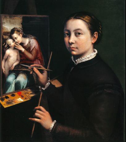 Sofonisba Anguissola Self-Portrait (1555)