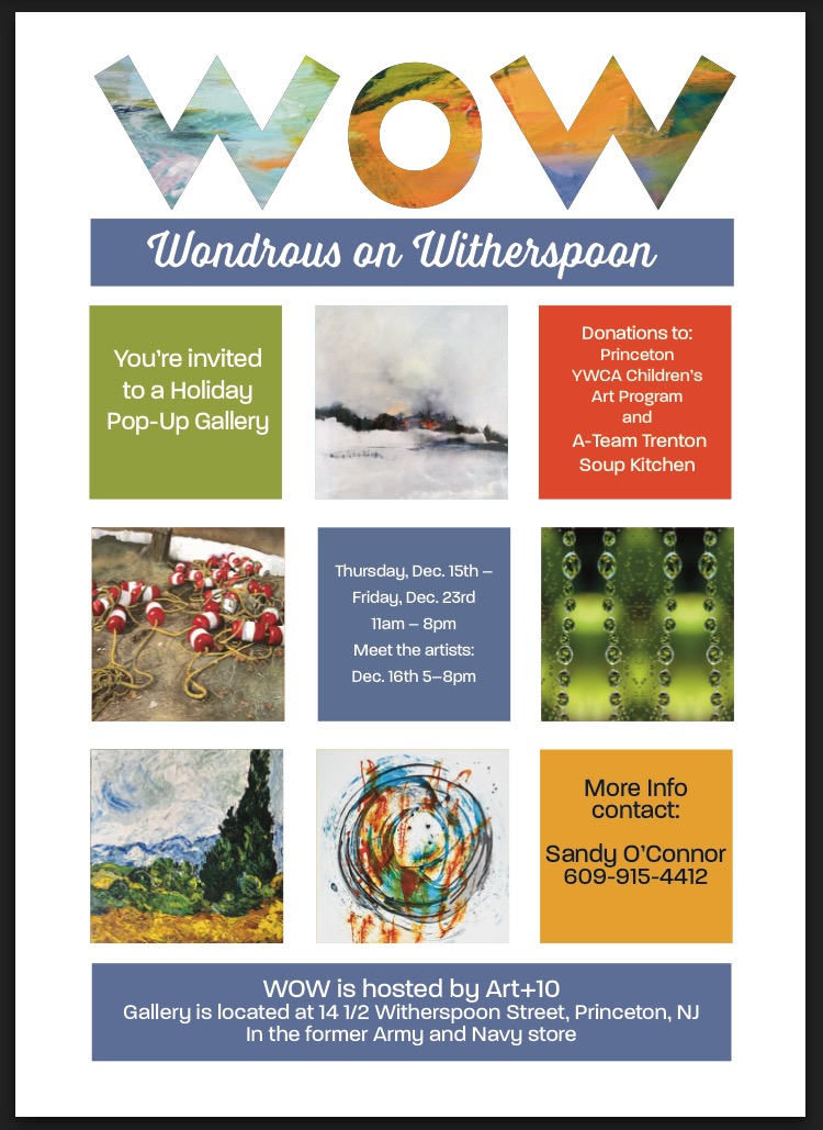 Wondrous on Witherspoon Holiday Pop-Up Gallery
