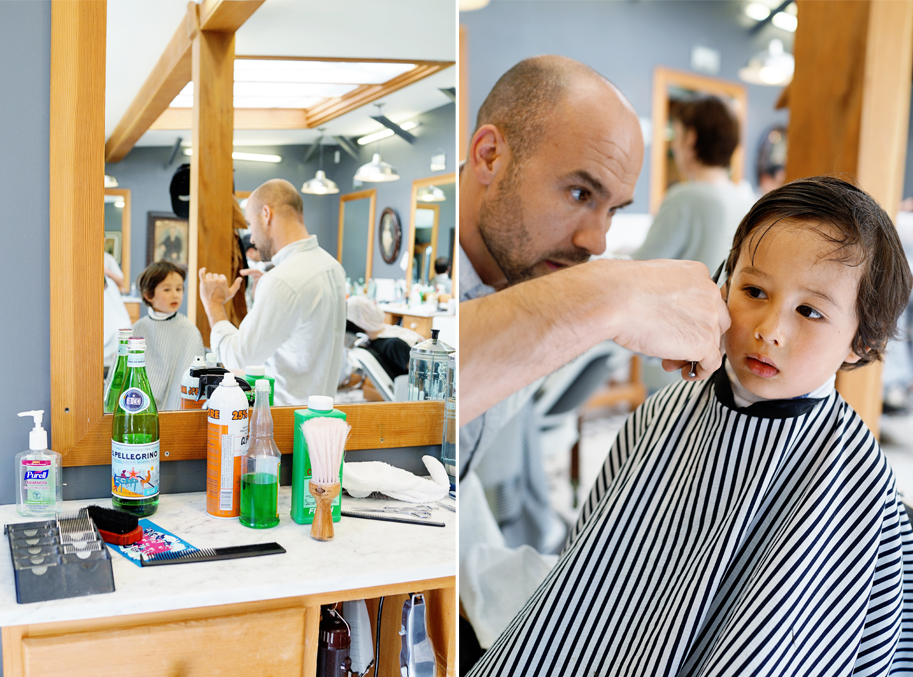 Lucas and the Temescal Barbershop - www.goodonpaperdesign.com/blog