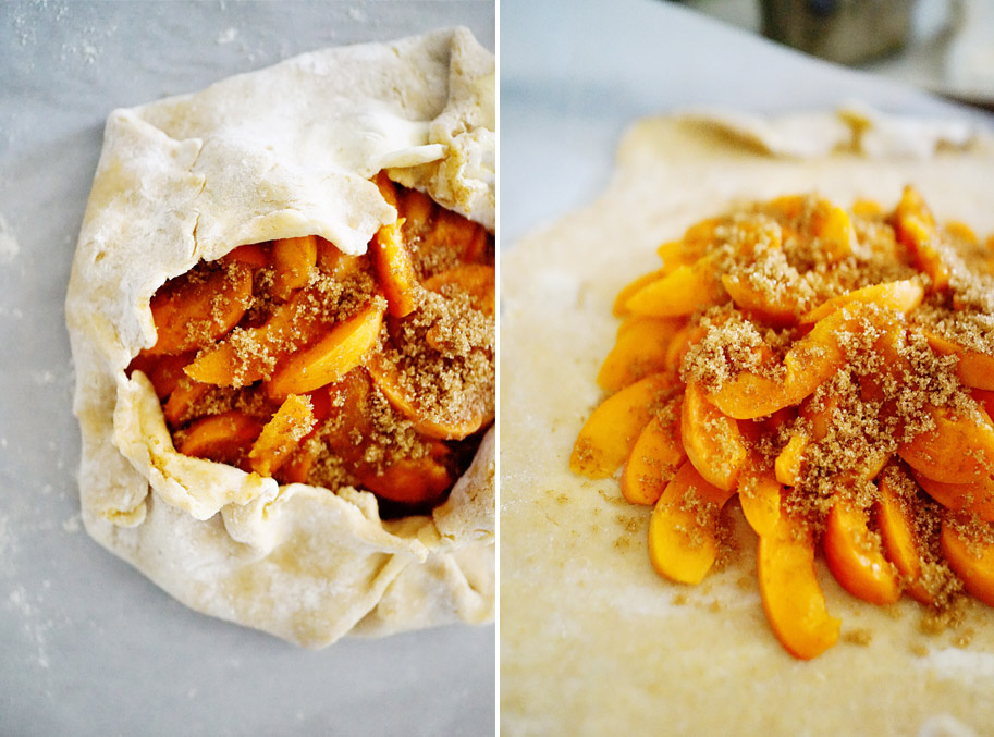Recipe: Apricot Galette / www.goodonpaperdesign.com/blog