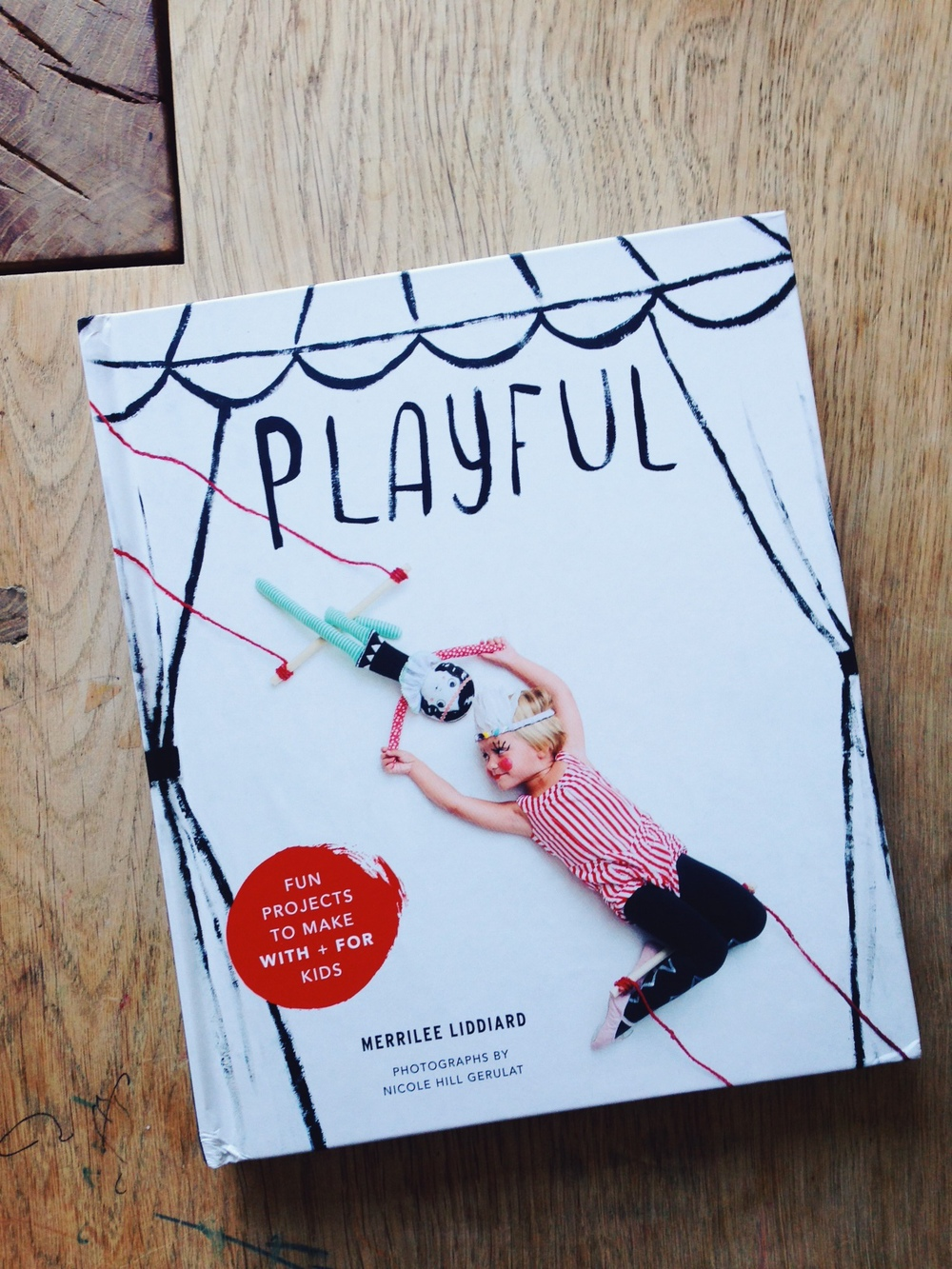 Book Review: Playful: Fun Projects to Make With + For Kids / www.goodonpaperdesign.com/blog / @good_on_paper