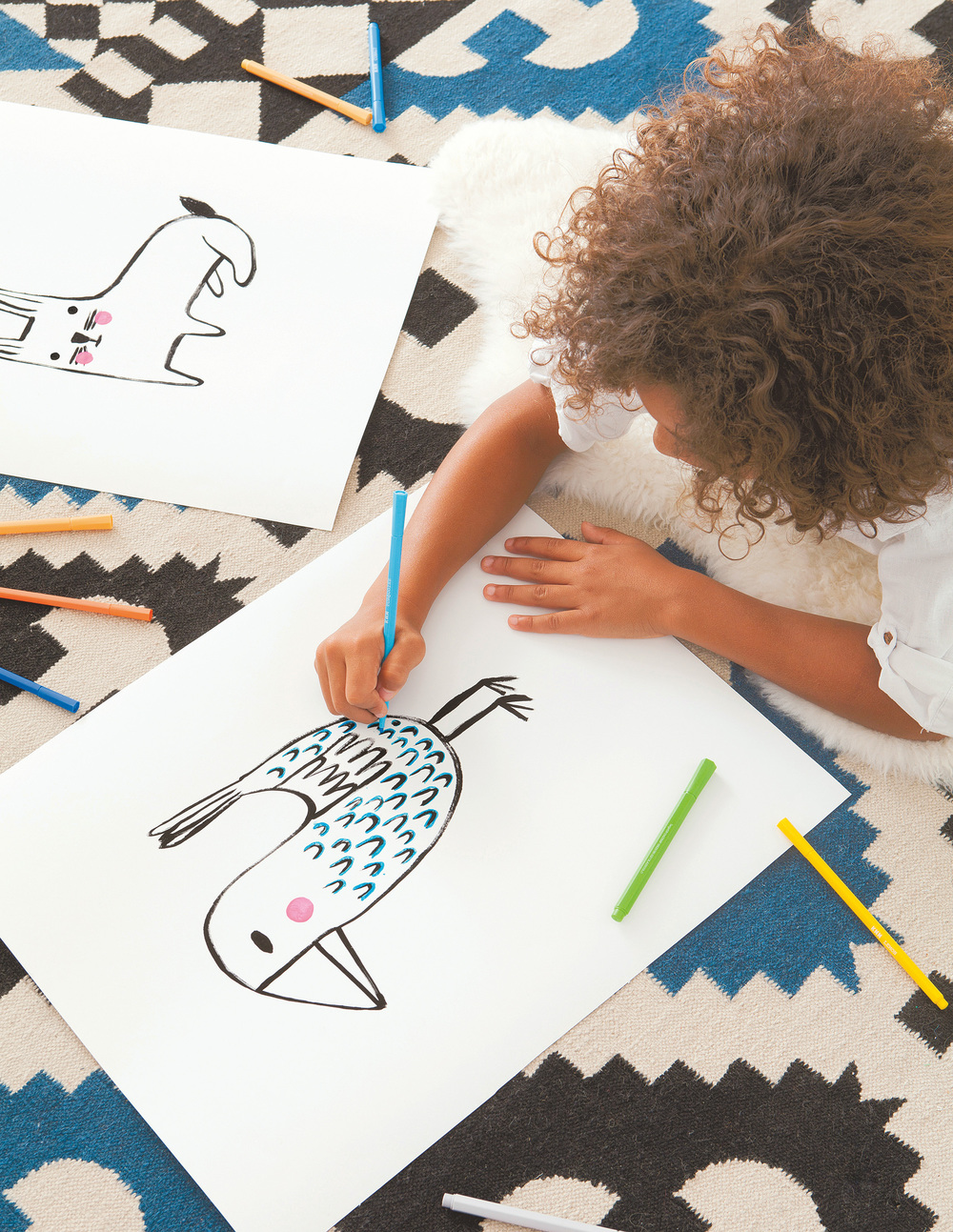 Book Review: Playful: Fun Projects to Make With + For Kids / www.goodonpaperdesign.com/blog / @good_on_paper / photo courtesy of Abrams Books