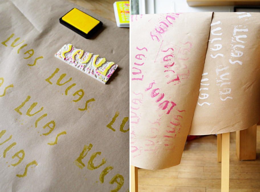 DIY Kids Project: Hand Carved Stamps / www.goodonpaperdesign.com/blog / @good_on_paper