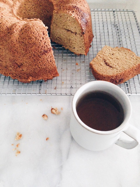 Recipe: Cardamom Coffee Cake (gluten free) / www.goodonpaperdesign.com/blog / @good_on_paper