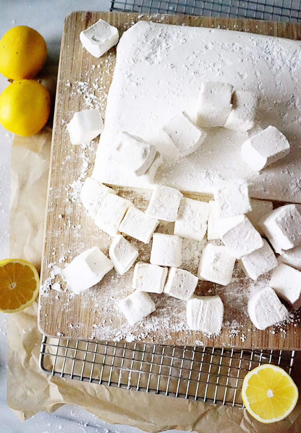Recipe: Lemon Meringue Marshmallows / www.goodonpaperdesign.com/blog / @good_on_paper