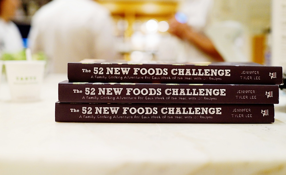 Favorites:  The 52 New Foods Challenge Book and Williams-Sonoma Event  /  www.goodonpaperdesign.com/blog  /  @good_on_paper