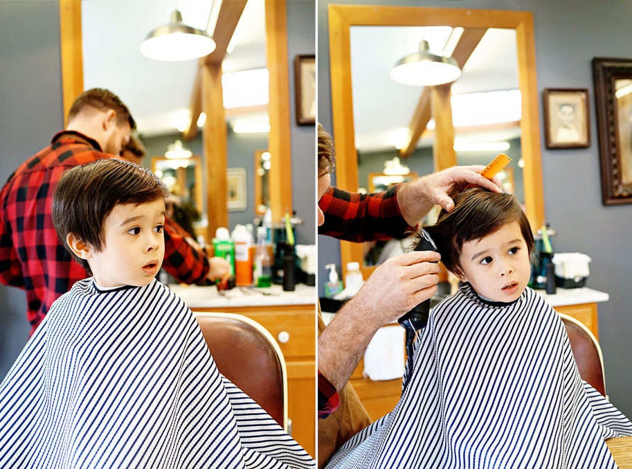 Theo and the Temescal Alley Barbershop  /  www.goodonpaperdesign.com/blog  /  @good_on_paper