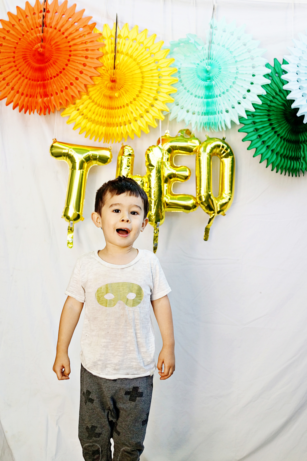 Theo's Music Themed 3rd Birthday Party  /  www.goodonpaperdesign.com/blog  /  @good_on_paper