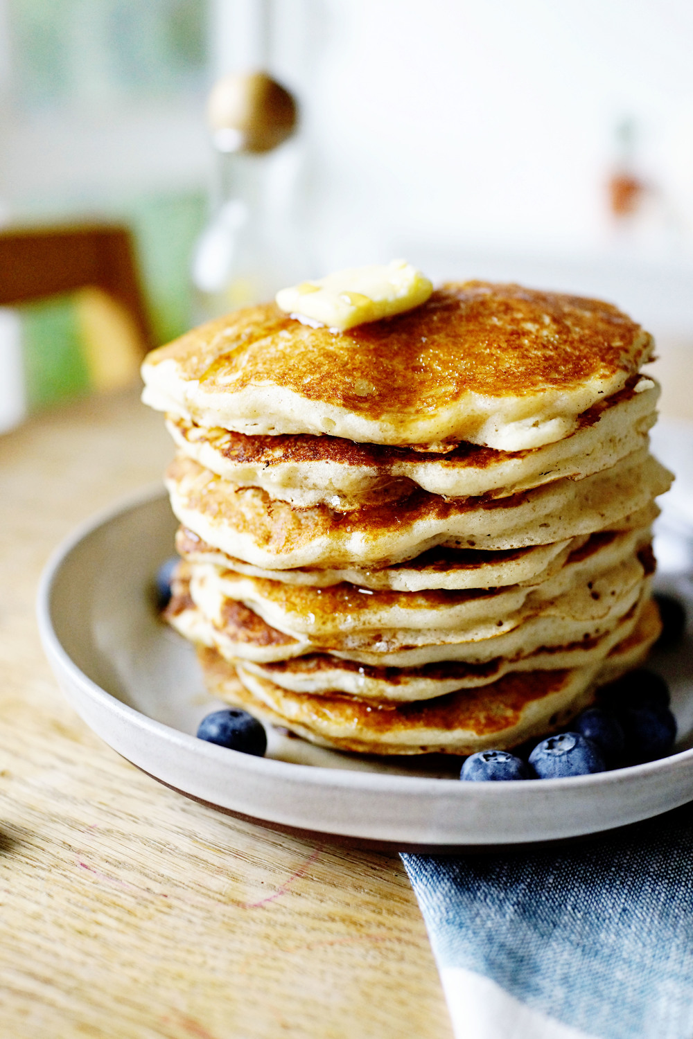Recipe: My Favorite Fluffy Buttermilk Pancakes (gluten free)  /  www.goodonpaperdesign.com/blog  /  @good_on_paper