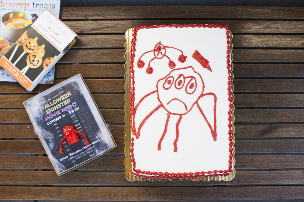 Halloween Monster Movie Night with Whole Foods Market Berkeley and 100 Layer Cakelet  /  www.goodonpaperdesign.com/blog  /  @good_on_paper