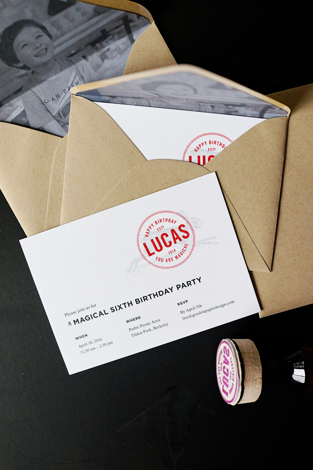 Lucas' 6th Birthday Party  /  www.goodonpaperdesign.com/blog/2016/5/12/lucas-6th-birthday-party  /  @good_on_paper