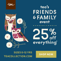 Friends and Family Event 25% off everything