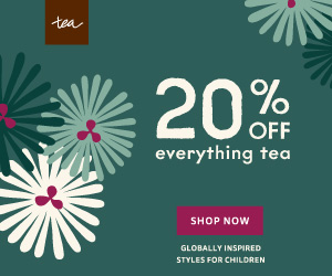 20% off everything Tea