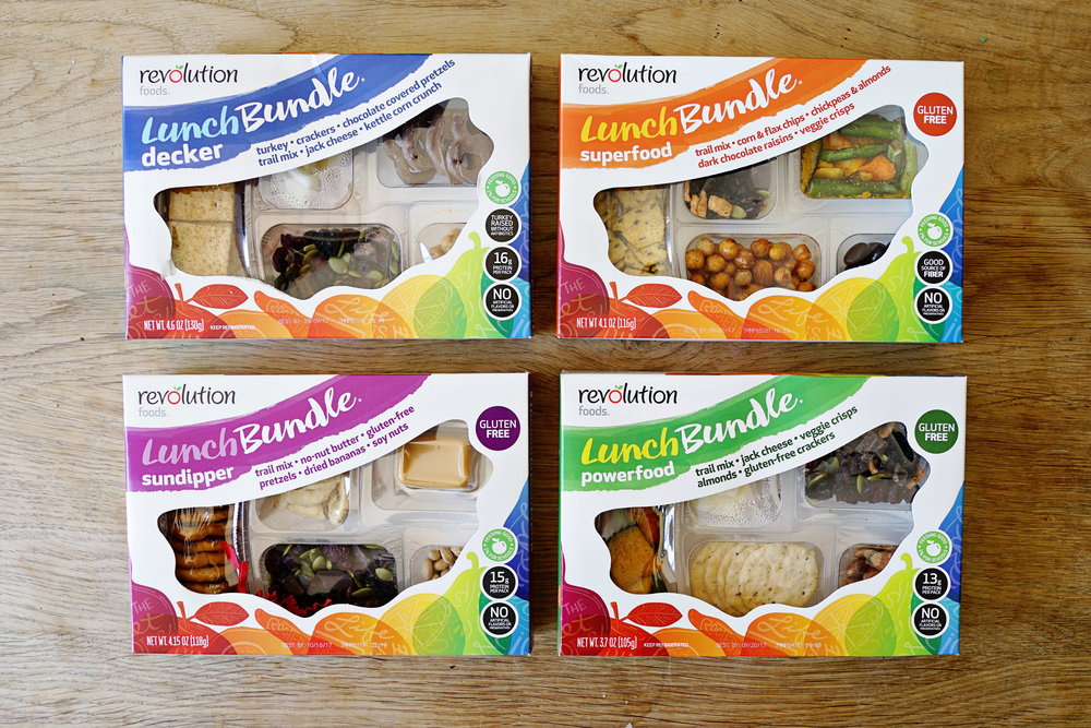 Revolution Foods Lunch Bundles plus Giveaway  /  www.goodonpaperdesign.com/blog/2017/8/4/favorites-revolution-foods-lunch-bundles  /  @good_on_paper