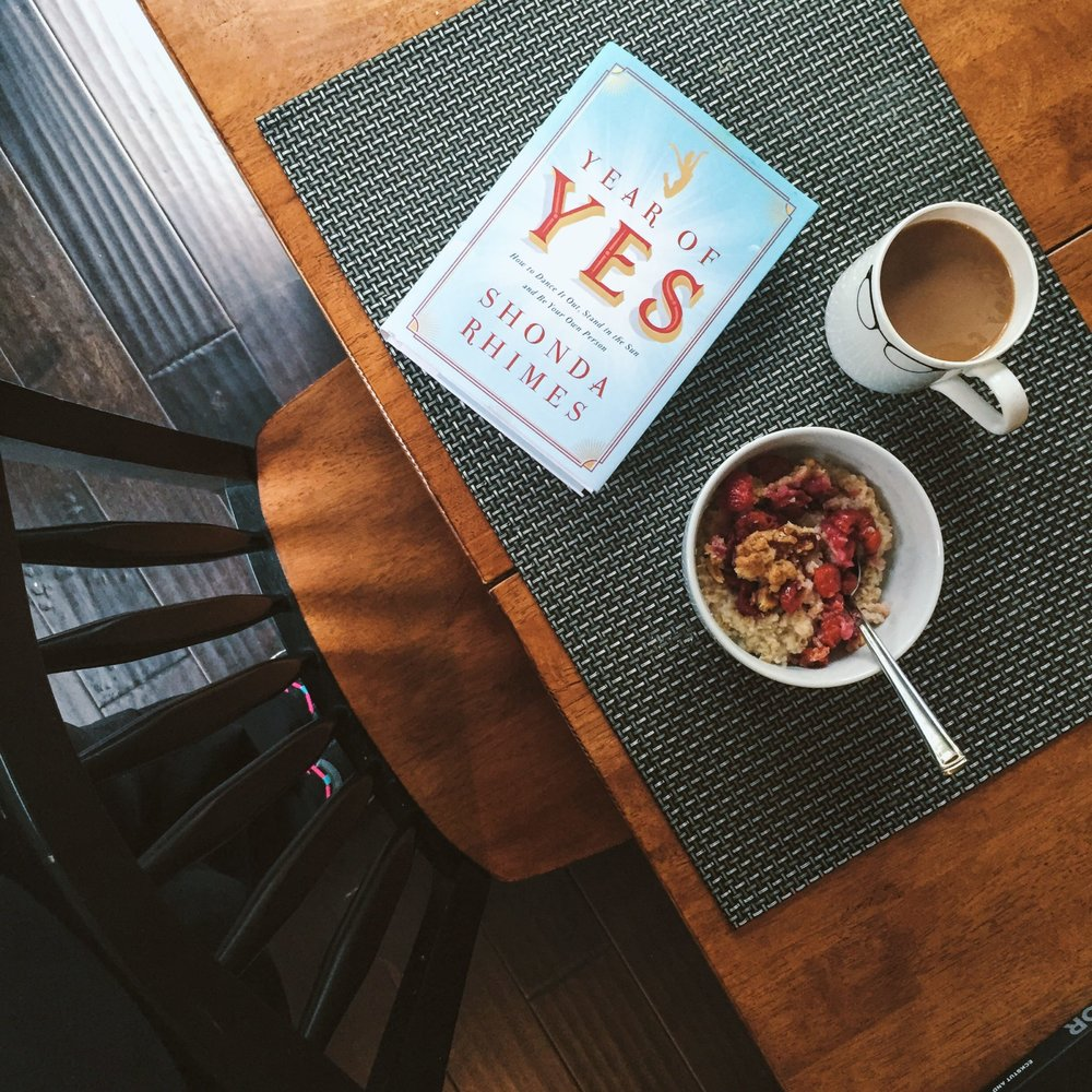 Year of Yes How to Dance It Out, Stand In the Sun and Be Your Own Person By Shonda Rhimes - See more at: http://books.simonandschuster.com/Year-of-Yes/Shonda-Rhimes/9781476777092#sthash.XM1NKS2I.dpuf