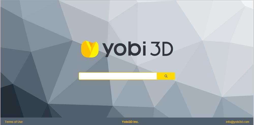 YOBI3D的界面