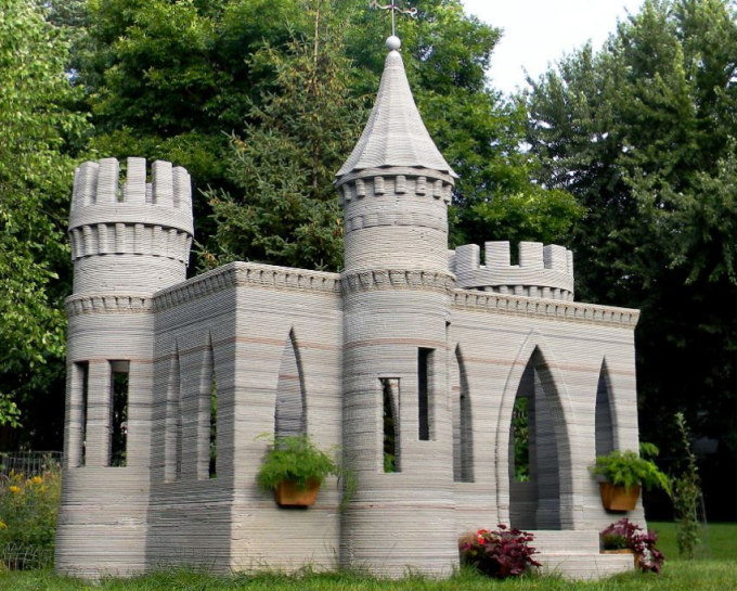 3d列印城堡
