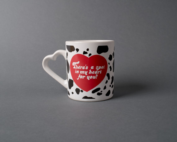 There's A Spot In My Heart For You! Moo Moo Coffee Mug