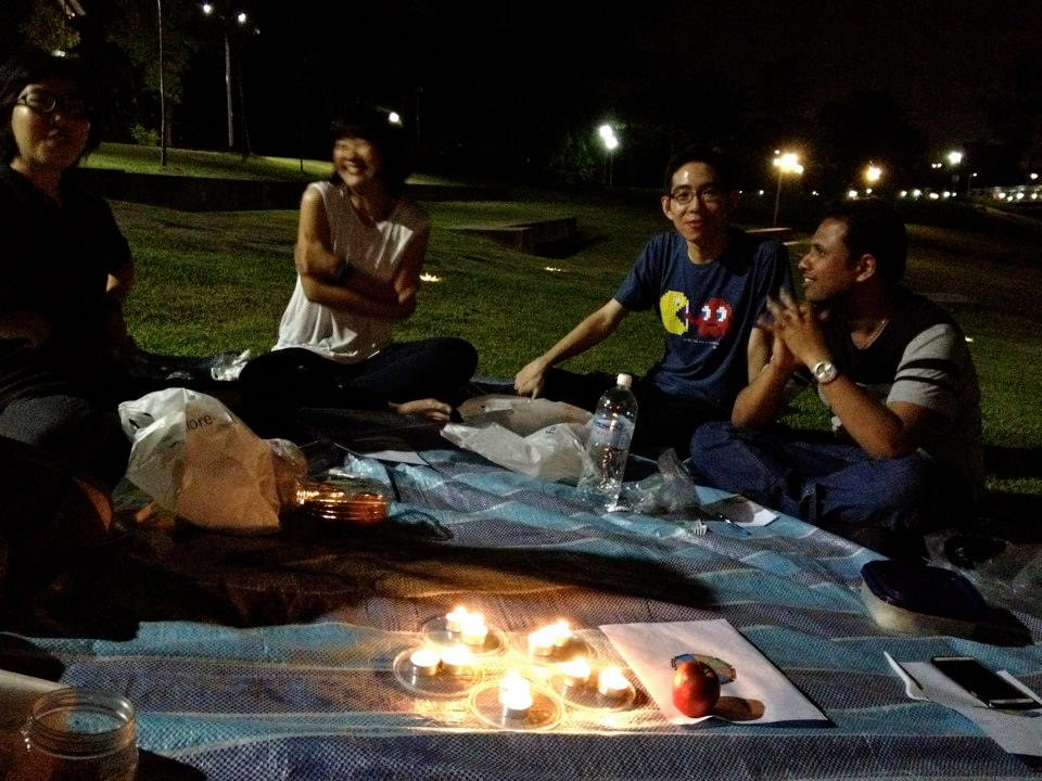 Fireside: Direction @ Bishan Park
