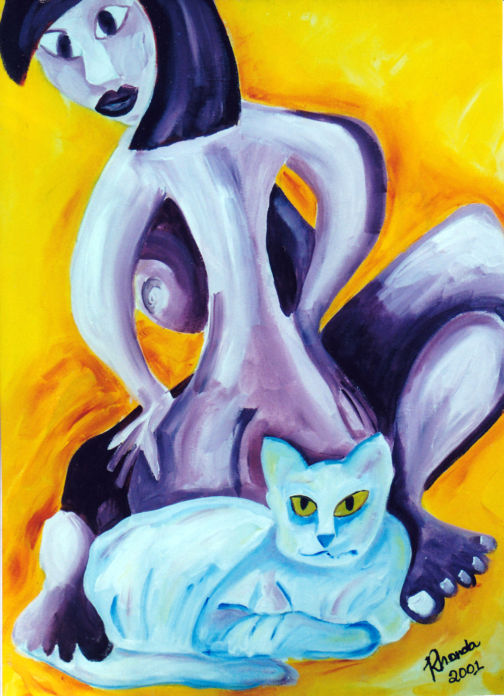 Cat's Back, Acrylic on Canvas, 105cm x 60cm.jpg