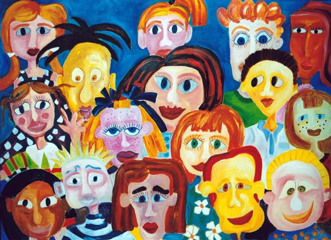 Show and Tell, Acrylic on Canvas, 160cm x 120cm (Small).jpg