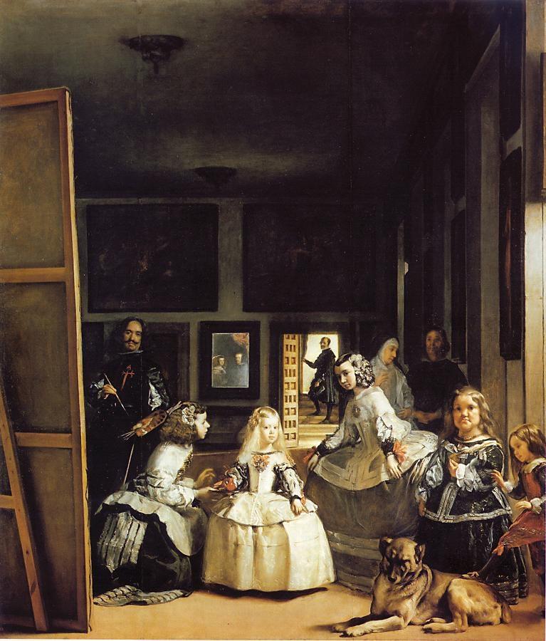 Las Meninas (The Maids of Honour) Diego Velázquez (1599 – 1660) Museo del Prado, Madrid Oil on Canvas, (318cm x 276cm) 1656