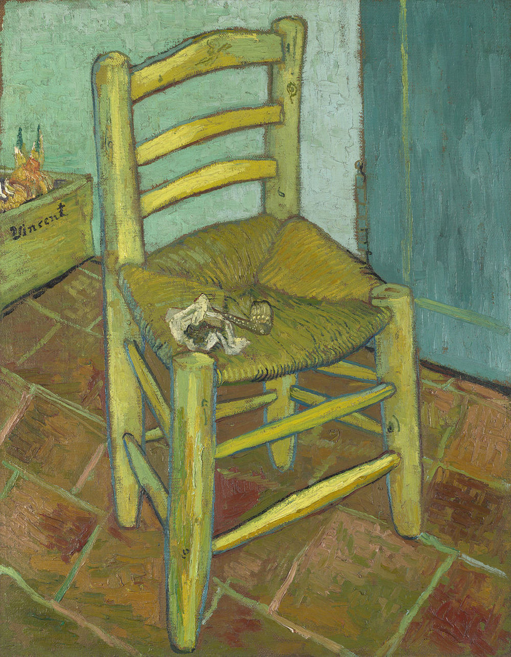 Vincent van Gogh, Chair, 1888, National Gallery, London.