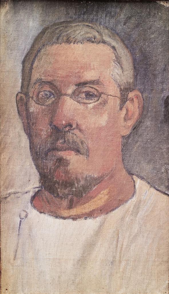 Paul Gauguin,  Self portrait , 1903, Kunstmuseum, Basel.