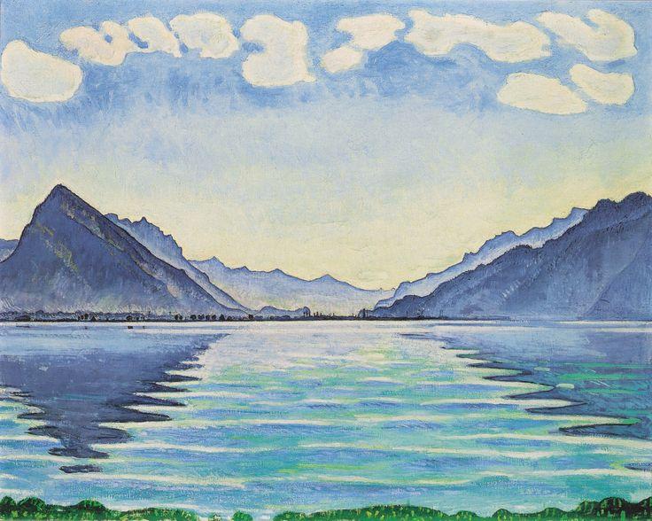 Ferdinand Hodler,  Lake Thun , 1905.