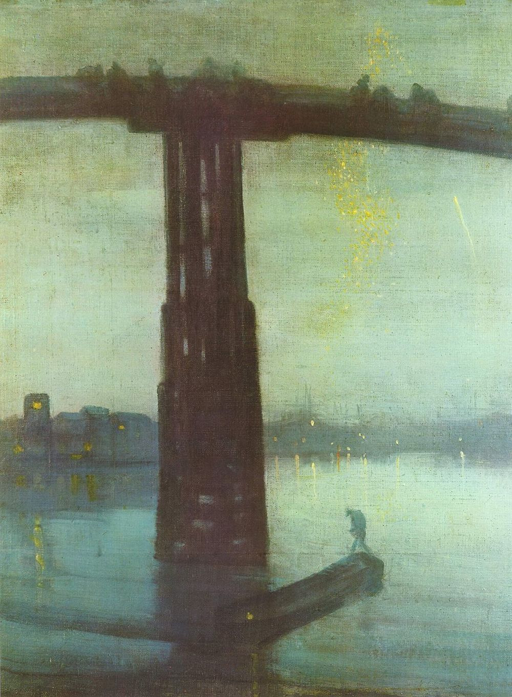 James Abbott McNeill Whistler, Nocturne: Blue and Gold - Old Battersea Bridge, 1872, Tate Britain, London.