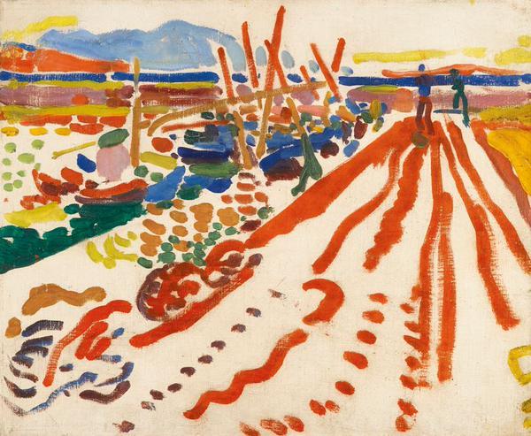 André Derain,  La jetée à L'Estaque   (The pier in L'Estaque  ) , 1906, Private Collection, Strasbourg.